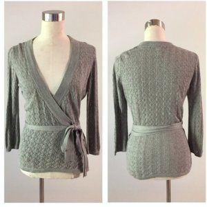 H&M Ballet Wrap Knit Sweater (P1)